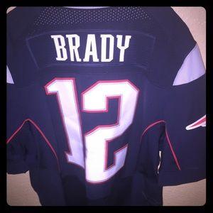 Tom Brady Nike Jersey wore twice